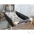 Textil alap és párnahuzat - babzsákos babahinta - rabbit
