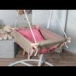 pastel pink babzsákos babahinta