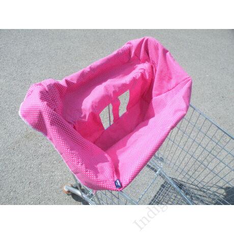 Bevásárlókocsi huzat-pink