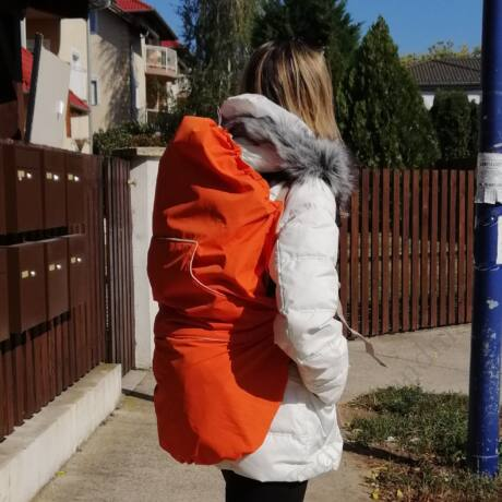 narancs INDIGO hordozótakaró - totyogó