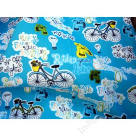 """""""kék biciklik"""" babzsákpárna"""