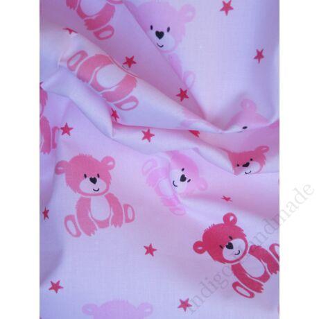 Pink-teddy babzsákpárna
