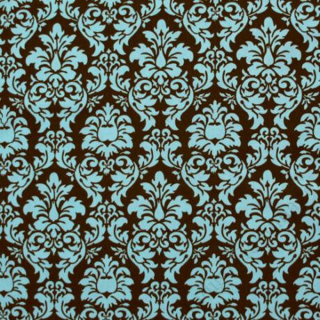 """Vállpántvédő - """"Barokk-blue"""""""